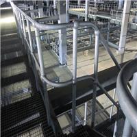 焊接型护栏 球型立柱护栏钢格板厂家直销