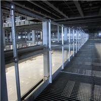 钢格板厂家直销 球型立柱护栏 焊接型护栏