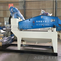 LZ28-55双层洗砂回收一体机发往首都-北京