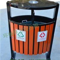 厂家直销学校分类垃圾桶 钢木果皮箱
