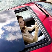 汽车玻璃室内除甲醛功能