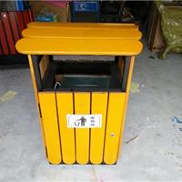 供应木制垃圾桶 游乐场果皮箱 小区垃圾筒