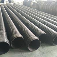 生产供应HDPE钢带增强缠绕管