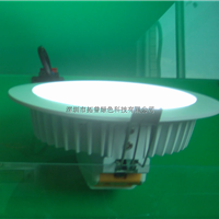 供应超薄筒灯配件4寸LED筒灯配件批发