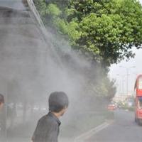 东荣喷雾降温降温设备都是采用静音设备