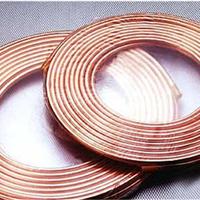 批发供应紫铜盘管T2空调紫铜盘管
