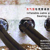 WQBZ-100充气型电缆管道防水封堵系统
