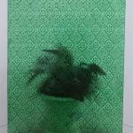 供应绿海棠压花玻璃