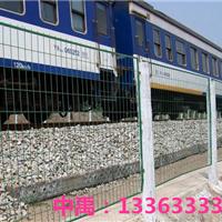 辽宁铁路两旁隔离防护网禁止行人穿越攀爬