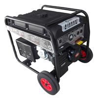 户外用5KW电启动汽油发电机