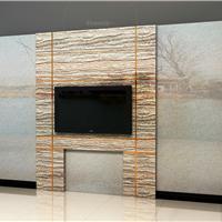 仿大理石UV板电视背景墙、仿大理石背景墙面