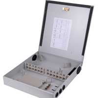 供应冷轧板24芯光纤分纤箱