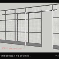 东莞横沥小麻雀装饰工程-铁网隔断
