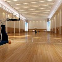 供应篮球场专用木地板  体育木地板