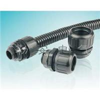供应IP68防水级高拉力浪管固定头,波纹管接头