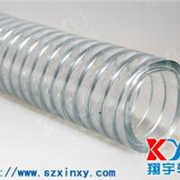 透明钢丝管,卫生级钢丝软管,PVC透明钢丝增强软管