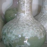 供应景德镇陶瓷插花花瓶 现代时尚家居 酒店摆设品