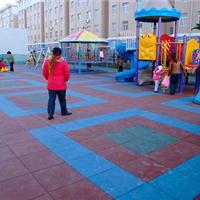 供应橡胶地砖-橡胶地板-防滑地砖