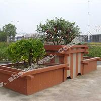 户外园林护栏垃圾桶长椅凉亭绿可木生态木塑防水阻燃板