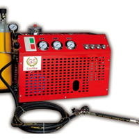 供应耐用试验小型高压空气压缩机30MPA压力