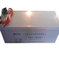 供应全国农村改造用太阳能路灯专用胶体免维护蓄电池