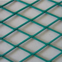 西安喷塑菱形钢板网|钢板网规格/型号