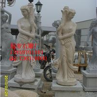 供应石雕人物 石雕动物 石雕花盆 喷泉