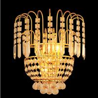 高档奢华水晶壁灯 K9水晶  酒店客房灯 走廊过道灯