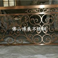 供应不锈钢镂空楼梯扶手、酒店不锈钢楼梯扶手