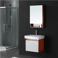 波利卡卫浴-橡木浴室柜