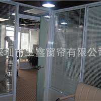 深圳办公中空百叶隔断 中空玻璃磁控百叶