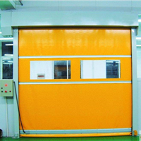 供应扬州净化风淋室快速卷帘门,扬州雷达感应门,扬州快速门厂家