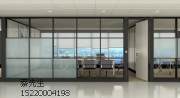 广州番禺办公隔间 屏风高隔断 玻璃隔墙厂家