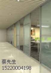 台州办公高隔断 玻璃高隔墙厂家