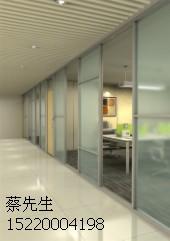 广州番禺办公高隔断 玻璃高隔墙厂家