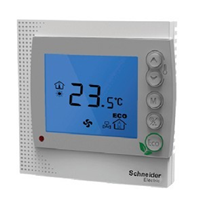 供应风机盘管温控器 施耐德温控器 液晶温控器