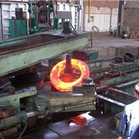 径向碾环机-高颈法兰轧制过程