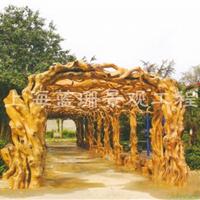上海供应手工仿木葡萄架  欢迎来图定制