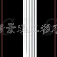 供应上海优质GRC罗马柱 欧式罗马柱造型 仿大理石罗马柱