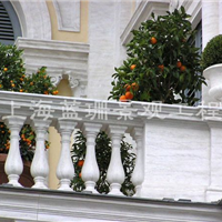 供应上海GRC水泥花瓶柱 欧式花瓶柱围栏 阳台花瓶栏杆护栏