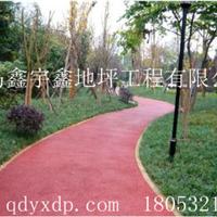 青岛透水地坪、市政透水道路、景观道路施工