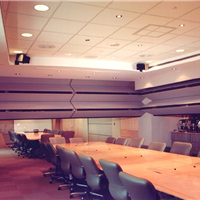 供应会议室电动活动屏风 会议室电动活动隔墙 会议室电动隔音墙