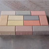 无锡明云彩砖水泥砖厂-彩色水泥面包砖