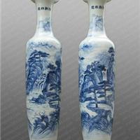 供应陶瓷大花瓶 青花手绘大花瓶
