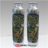 供应瓷器礼品花瓶 景德镇陶瓷大花瓶