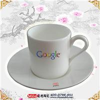 供应陶瓷咖啡杯定做 加字广告杯