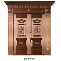 供應豪華真銅門CD-T8049