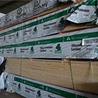 供应SPF板材、加拿大SPF、加松板材