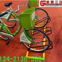 摩托车专用的自行车停放架,卡位式电动车摆放架