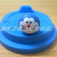 供应橡硅胶哆啦A梦杯盖 乐扣杯盖 陶瓷杯盖
